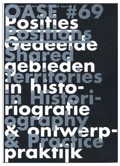 Karel Martens, cover for OASE #69
