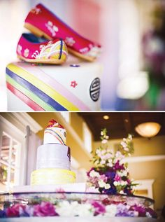 If I ever have a child, I know where to look for super chic 1st bday Korean Dol party inspiri!!  Cultural-first-birthday-celebration-cake-flowers-4