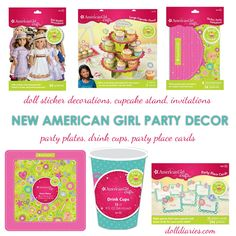 American Girl Party Decor
