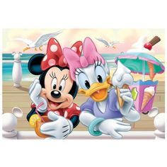 mickey and minnie sarang puzzle | Mini Puzzle - Minnie Mouse Trefl-19472 54 pièces Puzzles - Mickey ...