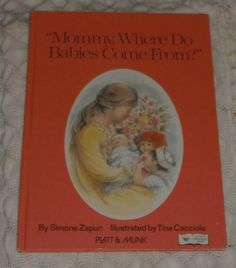 Mommy Where Do Babies Come From  by Simone by Starrylitvintage