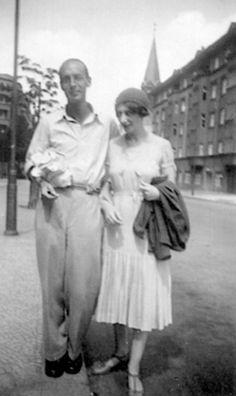 Vladimir and Vera Nabokov, Berlin, 1930s