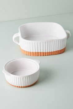 Colori Baking Dish | Anthropologie #affiliate Carafe, Small Baking Dish, Baking Dishes, Ceramic Baking Dish, Baking Set, Cooking Supplies, Dish Sets, Kitchen Collection, Dinnerware Sets