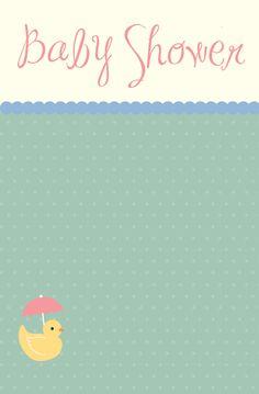 Darling Baby Shower invites on Pixingo.com