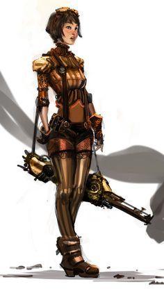 Image result for steampunk girl deviantart