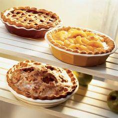 Sunglow Apple-Lemon Pie | MyRecipes.com