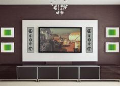 In Wall Speakers, Man Cave, Places To Visit, Kitchen Appliances, Frame, Basement, Room Ideas, Decoration, Home Decor