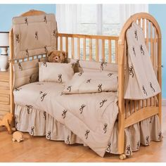Browning crib sheets.... my boyfriend would love these if we have another daughter!