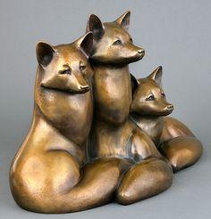 Georgia Gerber - Spring Foxes