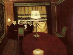 Félix Vallotton, Poker, 1902, Oil on cardboard, 52,5 x 67,4 cm, Musée d'Orsay, Paris