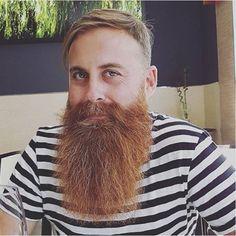 Red Beard, Ginger Beard, Hipster Beard, Epic Beard, Beard Tattoo, Bearded Men, Beards, Red Hair, Beard Care