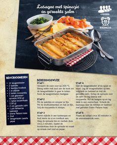 Lasagne met spinazie en gerookte zalm - Lidl Nederland
