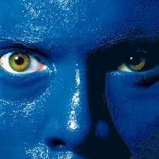 Blue has many faces.