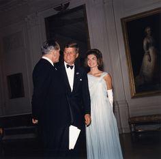 29 April 1962  Dinner for Nobel Prize Winners of the Western Hemisphere.