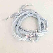 Bracelet Love tender Gris bleuté