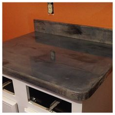 Concrete Countertops  By Adam Slater (931.629.5676)  Wesley Wright(931.629.1350)  Lawrenceburg, TN