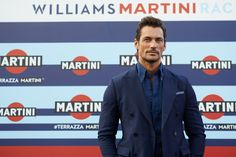 David Gandy Photos Photos - Male supermodel and car enthusiast David Gandy…