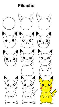 Vogel Auf Einem Vogelhaus | Cute Easy Drawings, Easy Easy Butterfly Drawing, Easy Flower Drawings, Easy Disney Drawings, Easy Doodles Drawings, Easy Cartoon Drawings, Simple Doodles, Cute Drawings, Pikachu Drawing Easy, Marvel Drawings