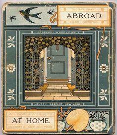 """Abroad"" by Ellen Houghton, illustrated by Walter Crane, 1882  via hearthside-reader: http://pinterest.com/pin/489344315733466316/"