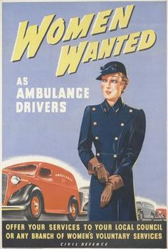 WOMEN WANTED from POSTERS OF CONFLICT - The Visual Culture of Public Information and Counter Information