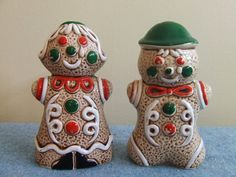 Gingerbread - Salt and Pepper People