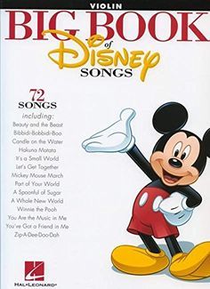 The Big Book of Disney Songs - Violin (Book Only) by Hal ... https://www.amazon.com/dp/1458411389/ref=cm_sw_r_pi_dp_x_PLVyybNHX9Z1N