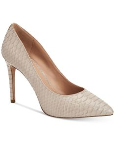 Bcbgeneration Heidi Classic Pointed-toe Pumps Women's Shoes In Grey Patent Snake Grey Pumps, Grey Shoes, Women's Pumps, Pointed Toe Pumps, Stiletto Heels, Peep Toe, High Heels, Pump Shoes, Women's Shoes