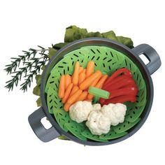 Vegetable Steamer/Strainer.