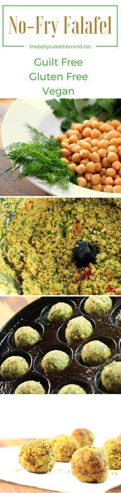 Packed with fresh flavors of chickpeas, dill and parsley, these falafel are a…