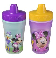 MINNIE MOUSE Insulated Sippy Cup from The First Years #DisneyBabyPackNPin