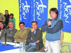 Piedra del Aguila.-: MPN: Sapag confirmó que la lista Azul irá a intern...