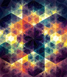 Patrones geométricos creados por Andy Gilmore