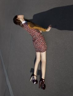 Anais Pouliot by Viviane Sassen for Carven, fall 2012