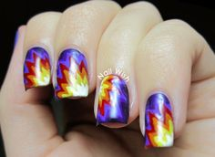 Wish Nail: SummerNails Challenge # 13: Sunset / Sunset