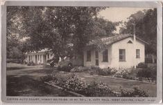 West Covina, California Postcard CRITES AUTO COURT Highway 99 Wayne Paper