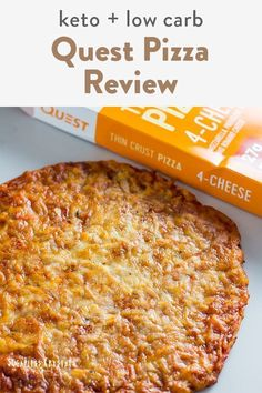 Quest brand has keto friendly pizzas that are store bought and available nationwide. It's a quick and easy way to grab something when short on time. It's not crustless the crust is actual very high in fiber and protein and the sauce is sugar free. Easy Casserole Dishes, Healthy Casserole Recipes, Crockpot Recipes, Keto Recipes, Dinner Recipes, Cauliflower Crust Pizza, Cauliflower Recipes, Breakfast Bowls, Breakfast Sandwiches