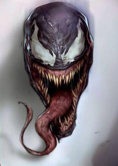Venom - Marvel Comics - Symbiotic - Symbiote