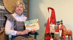 """In this episode of Swedish Story Time, Mrs. M narrates """"The Tomten,"""" by Astrid Lindgren. Tomtens are much loved creature in Swedish folklore who live on farms and speak to animals. #gammelgarden #museum #scandia #minnesota #immigrant #swedishimmigrant #sweden #swedish #swedish #swedishstorytime #reading #themtomten #astridlindgren #story #swedishculture #youth #fun Museum, Story Time, Folklore, Learning Activities, Farms, Minnesota, Sweden, Youth, Community"""