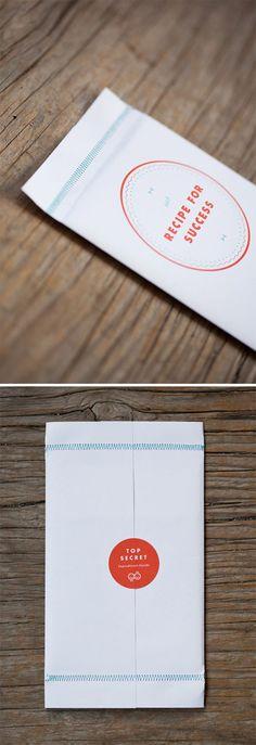 One Plus One Design: Recipe For Success Promo   print + sewn