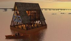 This Floating School in Nigeria is Pioneering Sustainable Development of Coastal Cities http://www.thecultureist.com/2013/02/22/floating-school-makoko-nigeria-architecture-kunle-adeyemi-nle/