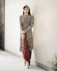 Model Kebaya Brokat Modern, Kebaya Modern Hijab, Dress Brokat Modern, Kebaya Hijab, Model Kebaya Muslim, Kebaya Lace, Kebaya Dress, Dress Brukat, Batik Dress