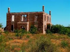 Abandonded Texas courthouses Reagon County
