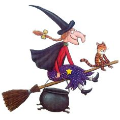 Halloween Witch Witch Black Cat Cartoon Clip Art Images Are On A Transparent Background Halloween Cartoons, Halloween Pin Up, Halloween Makeup, Halloween Costumes, Witch Decor, Witch Art, Imprimibles Halloween, Witch Clipart, Gruffalo's Child
