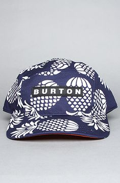 316d27fdd65 Burton The Camper Hat in Midnight Blue   Pineapple Azul De Medianoche