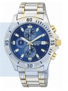 Citizen Quartz Chronograph Blue Dial Men's Watch - AN3394-59L And Best Online Price | citizen watches For You And Her