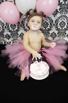 baby girls first birthday So hard to believe our baby girl is one