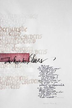 Manuela Maurer - Calligraphy
