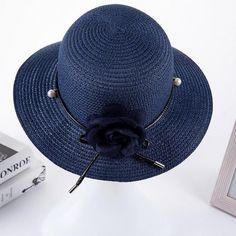 2017 summer hats for women Vintage Linen Beach hat outdoor flower straw hat Feminino Fedora Hat Ladies Chapeau snapback gorras