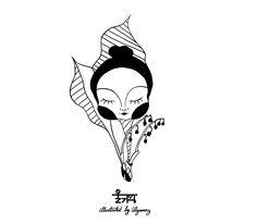 얼마전에 그렸었는데 언제였지ㅠㅠ 은방울꽃 / lily of the valley  #그림 #일러스트 #울가망 #illust #illustration #ulgamang  #lilyofthevalley