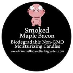 Smoked Maple Bacon candle